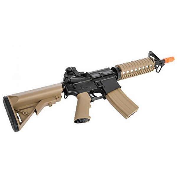 Colt Airsoft Rifle 7 Colt Soft Air CQBR-RIS Electric Powered Airsoft Gun with Adjustable Hop-Up, 350-380 FPS