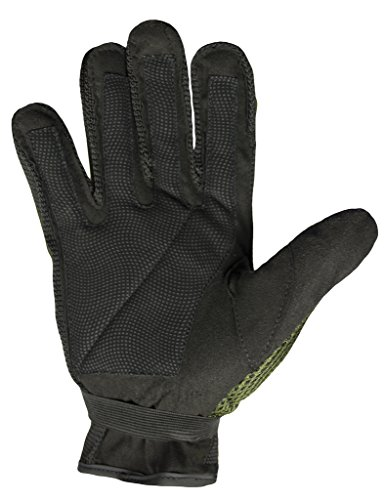 Mafoose Airsoft Glove 2 Mafoose Full Finger Plastic Back Airsoft Paintball Tactical Gloves