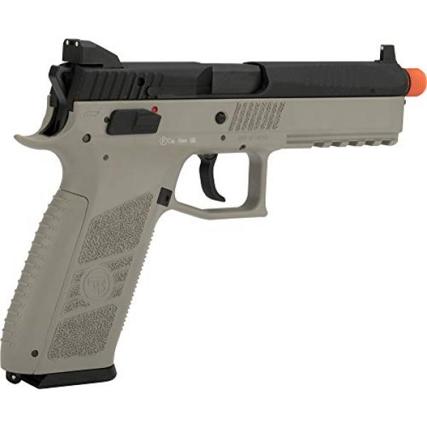 Evike Airsoft Pistol 2 Evike ASG CZ P-09 Licensed Airsoft GBB Gas Blowback Full Metal Airsoft Pistol (Color: Urban Grey)