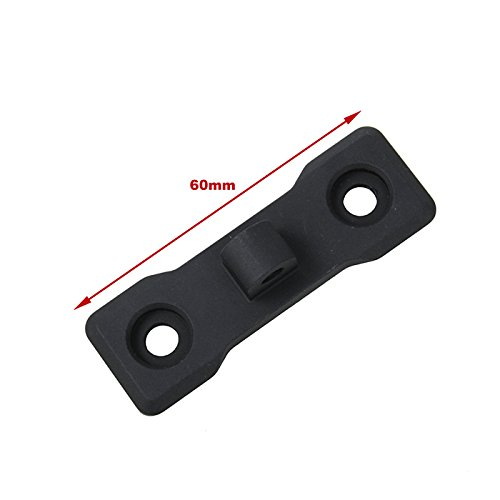 TMC Airsoft Tool 2 TMC Versatile Parts M-Lock Bipod Mount Aluminum Airsoft Gun Modification Part -Black
