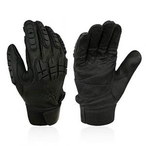 Intra-FIT Airsoft Glove 1 Intra-FIT Professional Tactical Glove Airsoft Gloves Combat Military Police Outdoor Sports Tactical Rubber Hard Knuckle Gloves for Riding Climbing Rappelling