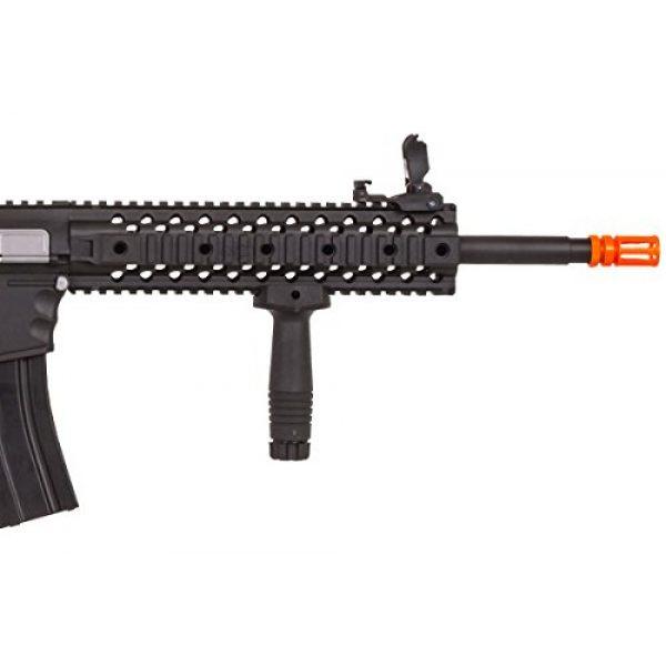 Lancer Tactical Airsoft Rifle 6 Lancer Tactical LT-12B-G2 Gen 2 RIS M4 Carbine AEG Airsoft Rifle (Black)