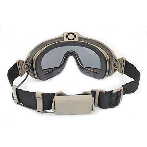 ATAIRSOFT Airsoft Goggle 4 ATAIRSOFT Fan Version Cooler Airsoft Glass Regulator Goggles Ski Snowboard Bike Sports
