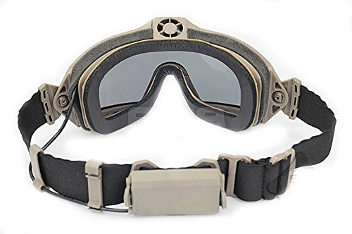 ATAIRSOFT Airsoft Goggle 4 ATAIRSOFT Fan Version Cooler Airsoft Glass Regulator Goggles Ski Snowboard Bike Sports