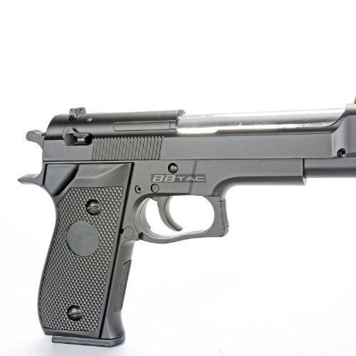BBTac Airsoft Pistol 3 BBTac Airsoft Pistol BT-M22 Spring Loaded Gun Airsoft Handgun