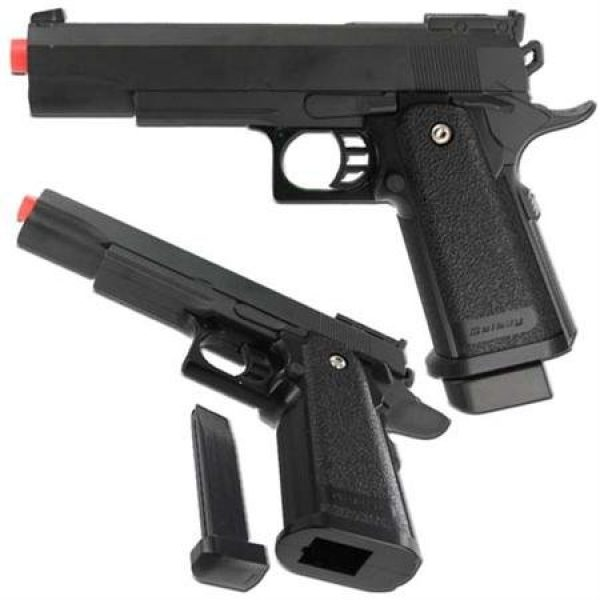 UKARMS Airsoft Pistol 1 G6 Heavy Metal Airsoft Gun Pistol Black with BB8217;s