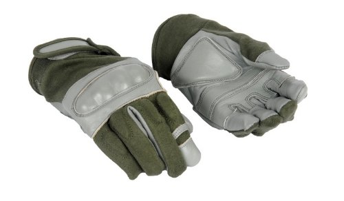 Lancer Tactical Airsoft Glove 1 Lancer Tactical AC-804 Hard Knuckle Airsoft Gloves (Sage