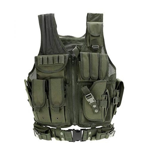 Vioaplem Airsoft Tactical Vest 3 Vioaplem Men's Military Tactical Vest Army Molle Vest Outdoor CS Airsoft Paintball Equipment Body Armor Hunting Vest 4 Colors