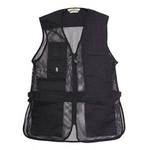 Bob-Allen Airsoft Tactical Vest 1 Bob-Allen Shooting Vest, Right Handed, Black, X-Large (40083)