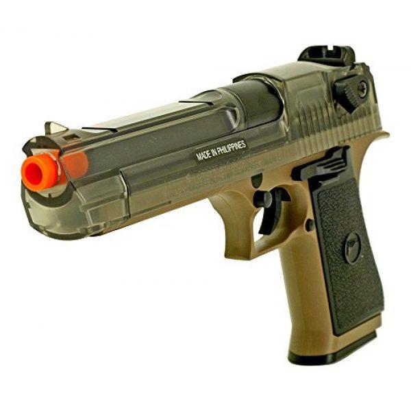 Palco Sports Airsoft Pistol 2 Palco Sports 90103 War Inc DE50AE Spring Airsoft Pistol, Black