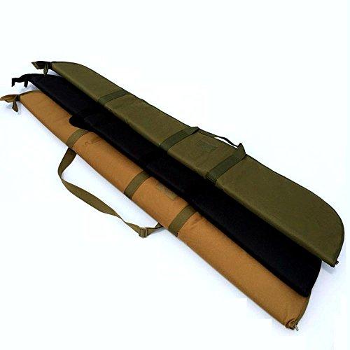 "LIVIQILY Airsoft Gun Case 3 LIVIQILY Hunting Nylon Shotgun Case 52"" Rifle Bag with Adjustable Shoulder Strap"