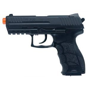 Elite Force Airsoft Pistol 1 Elite Force Umarex H&K P30 w/ Metal Slide Airsoft, Black, Medium
