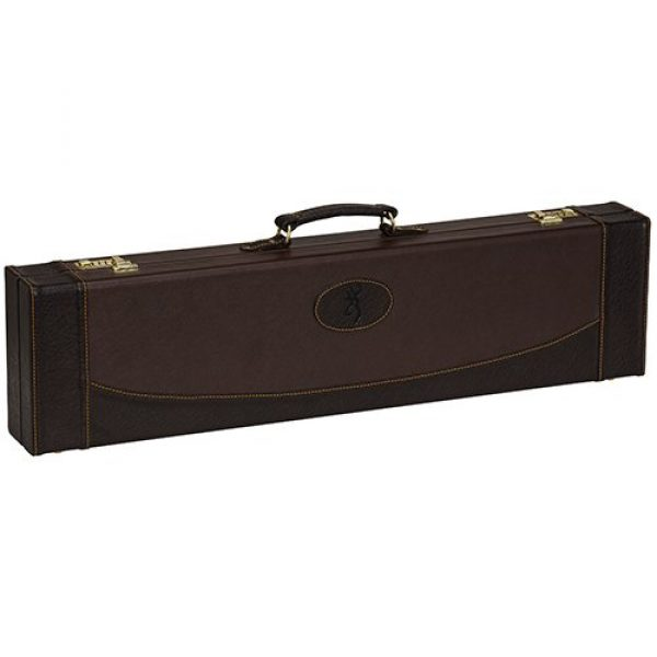 Browning Airsoft Gun Case 1 Browning 1425034812 Encino Ii Fitted Case, Size 32, Chestnut/Coffee
