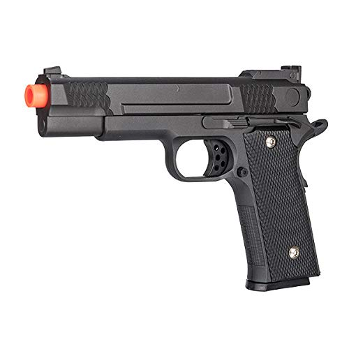 UKARMS Airsoft Pistol 2 UKARMS Galaxy G20H Full Metal M945 Airsoft Spring Hand Gun with Quick Release Holster