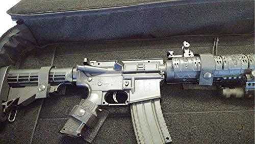 WRB Airsoft Gun Case 2 Short Barrel Rifle Case 28³ AR