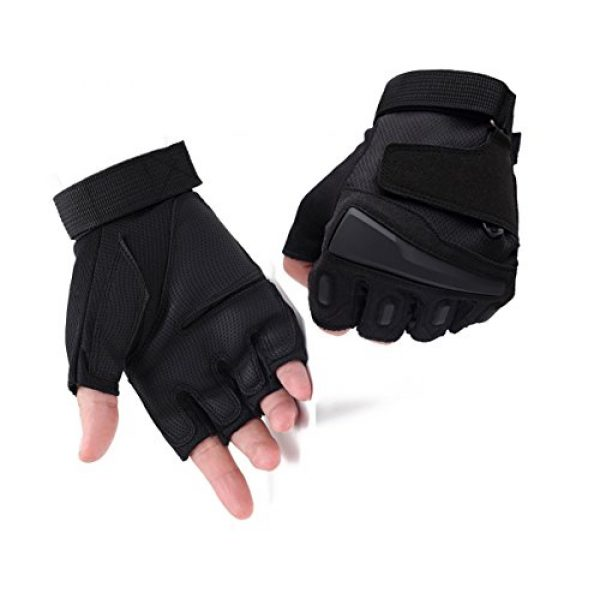 Campstoor Airsoft Glove 1 Campstoor Tactical Half Finger Gloves for Cycling Motorcycle Workout Hiking Camping Powersports Airsoft Paintball