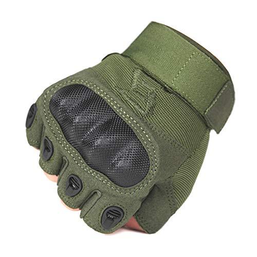 FREE SOLDIER Airsoft Glove 3 FREE SOLDIER Outdoor Half Finger Safety Heavy Duty Work Gardening Cycling Gloves