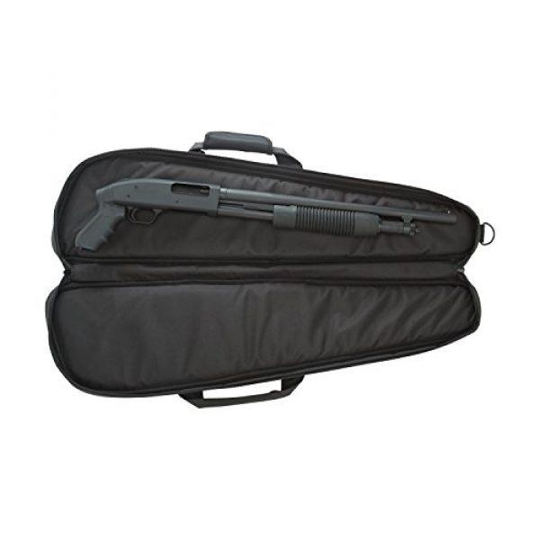 """Allen Company Rifle Case 3 Allen Pistol Grip Shotgun Case, 32"""", Black"""