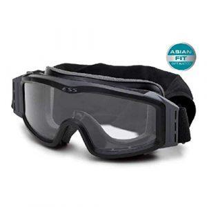 ESS Airsoft Goggle 1 ESS Eyewear 740-0123 Asianfit Profile Nvg Black