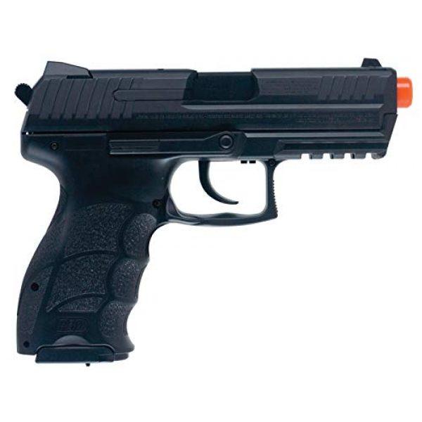 Elite Force Airsoft Pistol 2 Elite Force Umarex H&K P30 w/ Metal Slide Airsoft, Black, Medium