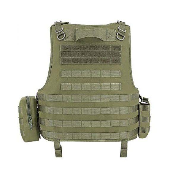 MGFLASHFORCE Airsoft Tactical Vest 3 MGFLASHFORCE Tactical CS Field Vest, Airsoft Paintball Vest