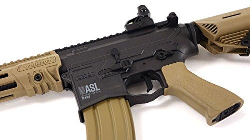 Valken  2 Valken ASL TANGO M4 6mm Airsoft Rifle Tan/Black w/Battery & Charger