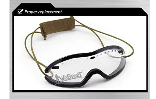 Gocher Airsoft Goggle 4 Tactical Goggles for Helmet Anti Fog Riding Cycling Paintball Glasses Smith Optics Boogie Regulator Goggles