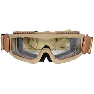 Lancer Tactical Airsoft Goggle 1 LANCER TACTICAL AIRSOFT VENTED SAFETY GOGGLES Glasses Eye Wear Googles TAN