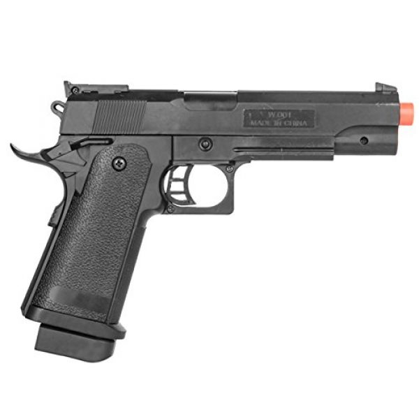 UKARMS Airsoft Pistol 2 UKARMS P2001A Spring Powered Tactical Airsoft Pistol w/ 6mm BBS + Detachable Magazine