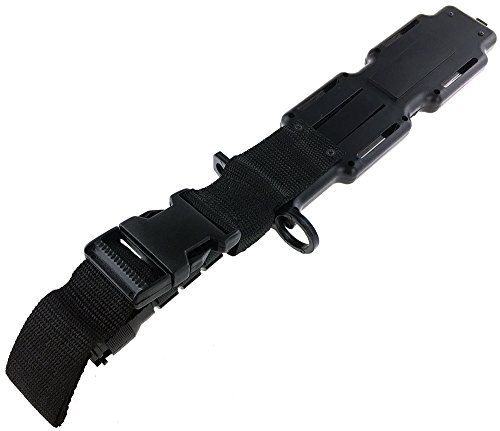 SportPro Airsoft Tool 4 SportPro Rubber Combat Knife M9 Style for Training Airsoft Black