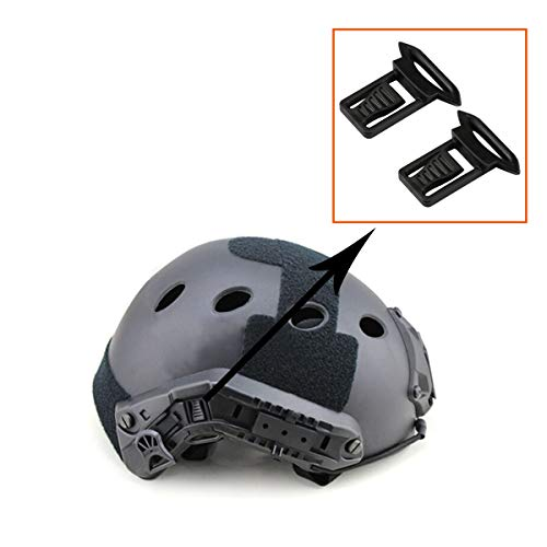 Aoutacc Airsoft Goggle 3 Helmtet Side Rails Quick Release Goggle Clip Airsoft Helmet Accessories for ARC Rail Equipped ACH/MICH/Helmet