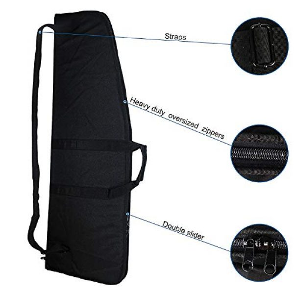 Fox Tactical Airsoft Gun Case 6 Fox Tactical 38 42 Inch Tactical Rifle Case Rifle Bag Long Single Gun Case,with Water Dust Resistant for Hunting Shooting Storage Transport