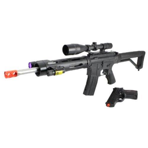 UKARMS Airsoft Rifle 1 Ukarms P1136 Spring Airsoft Gun FPS-280 Free Pistol Combo(Airsoft Gun)