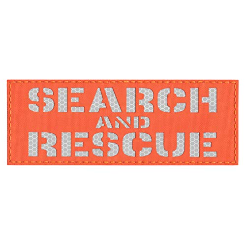 Tactical Freaky Airsoft Tactical Vest 1 High Visibility 3x8 SAR Search and Rescue Blaze Orange 3M Solas Honeycomb Hi Viz Plate Carrier Tactical Fastener Patch