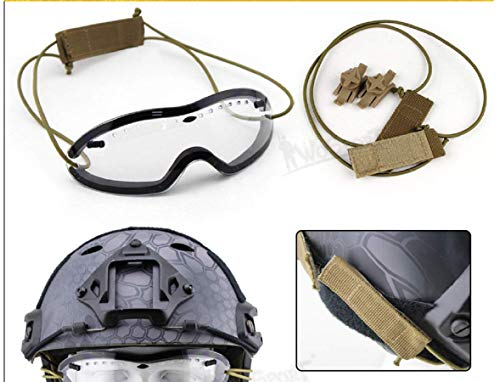 Gocher Airsoft Goggle 2 Tactical Goggles for Helmet Anti Fog Riding Cycling Paintball Glasses Smith Optics Boogie Regulator Goggles