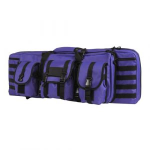 NcSTAR Rifle Case 1 NcSTAR NC Star CVDC2946PR-36, Double Carbine Case, Sizenameinternal, Black with Purple Tan, 36