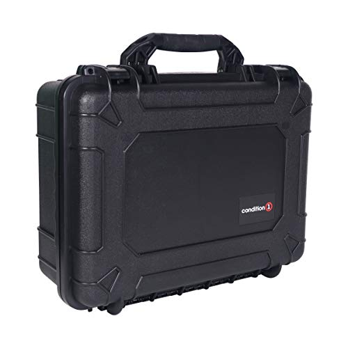 Condition 1 Airsoft Gun Case 2 Condition 1 #227 Black Airtight/Watertight Protective Case with DIY Customizable Foam
