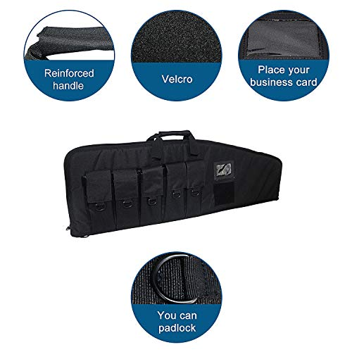 Fox Tactical Airsoft Gun Case 3 Fox Tactical 38 42 Inch Tactical Rifle Case Rifle Bag Long Single Gun Case