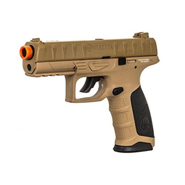 Elite Force Airsoft Pistol 3 Elite Force Beretta APX CO2 Blowback Pistol Airsoft Gun (FDE)