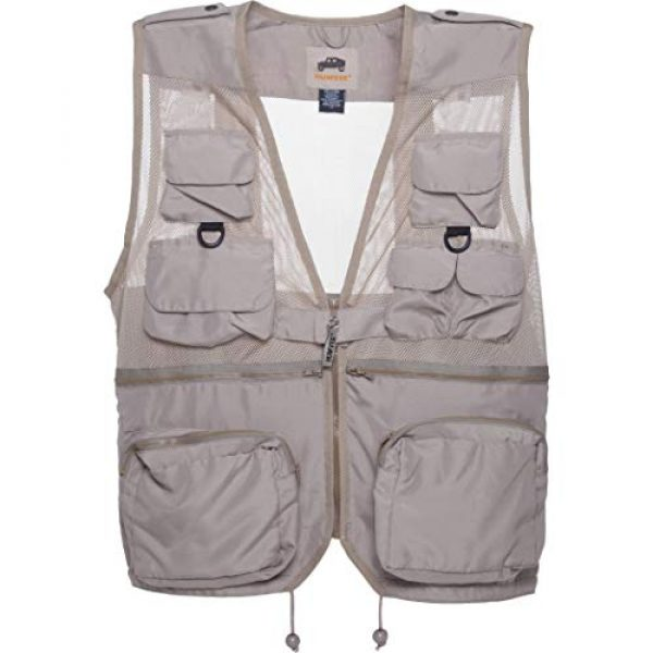 CampCo Airsoft Tactical Vest 1 Humvee Nylon Combat Vest with Safety Zipper