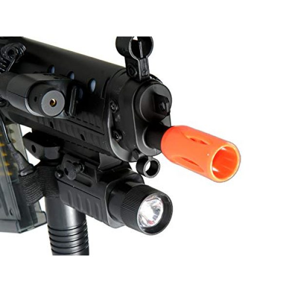 Double Eagle Airsoft Rifle 6 Double Eagle M82 Full Auto Airsoft Electric Gun Folding Stock 200fps