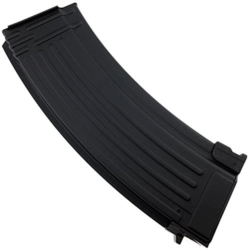 SportPro Airsoft Magazine 6 SportPro CYMA 150 Round Metal Medium Capacity Magazine for AEG AK47 AK74 Airsoft Black