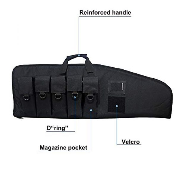 Fox Tactical Airsoft Gun Case 3 Fox Tactical 38 42 Inch Tactical Rifle Case Rifle Bag Long Single Gun Case,with Water Dust Resistant for Hunting Shooting Storage Transport