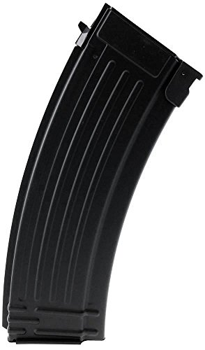 SportPro Airsoft Magazine 1 SportPro CYMA 150 Round Metal Medium Capacity Magazine for AEG AK47 AK74 Airsoft Black