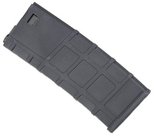 LONEX  3 Lonex Airsoft M Series Scar Plastic Black PMAG Magazine 200 RDS ASG MID Cap