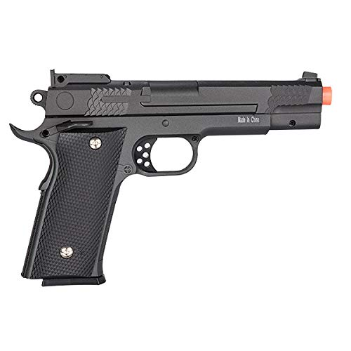 UKARMS Airsoft Pistol 3 UKARMS Galaxy G20H Full Metal M945 Airsoft Spring Hand Gun with Quick Release Holster