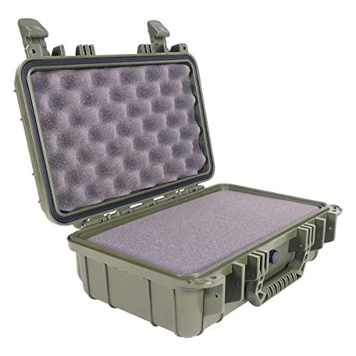 "Condition 1 Airsoft Gun Case 1 Condition 1 13"" Waterproof Protective Hard Case with Foam"