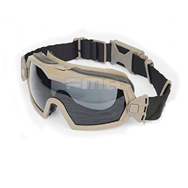 ATAIRSOFT Airsoft Goggle 2 ATAIRSOFT Fan Version Cooler Airsoft Glass Regulator Goggles Ski Snowboard Bike Sports