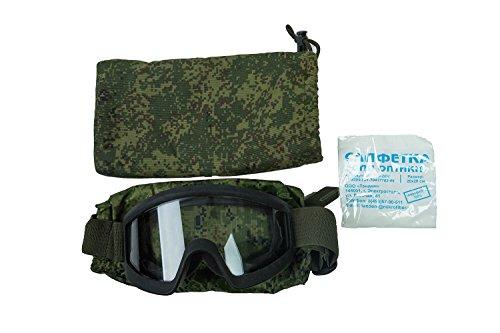 Kirasa Airsoft Goggle 1 6B34 Original Tactical Goggles of Russian Army (3rd Generation) Ratnik Kit
