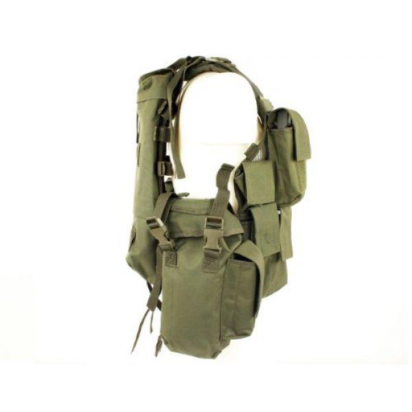 Mil-Tec Airsoft Tactical Vest 2 Mil-Tec Men's Tactical South African Assault Combat Cargo Army Vest Airsoft